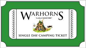 Image of Warhons 2021 Single Day Camping Ticket