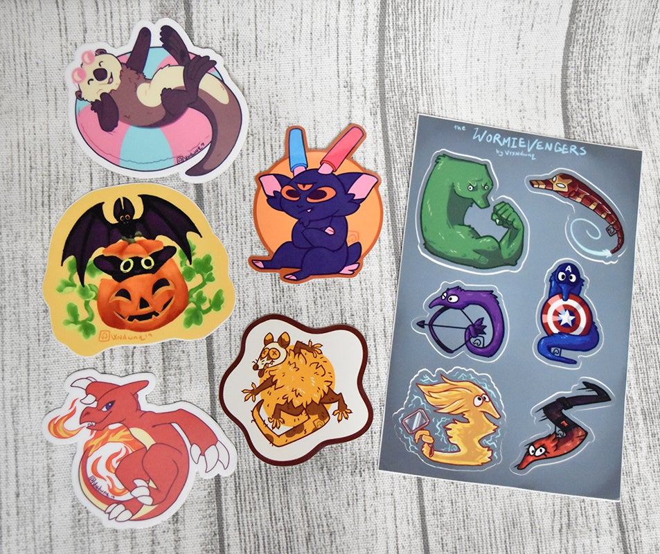 Image of Sticker Mystery Packs