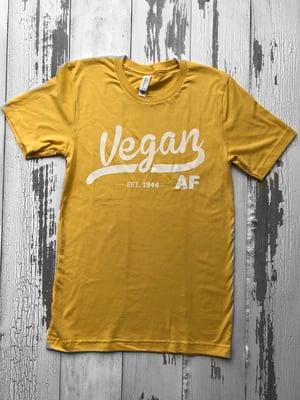 Image of Vegan Af T-shirt unisex