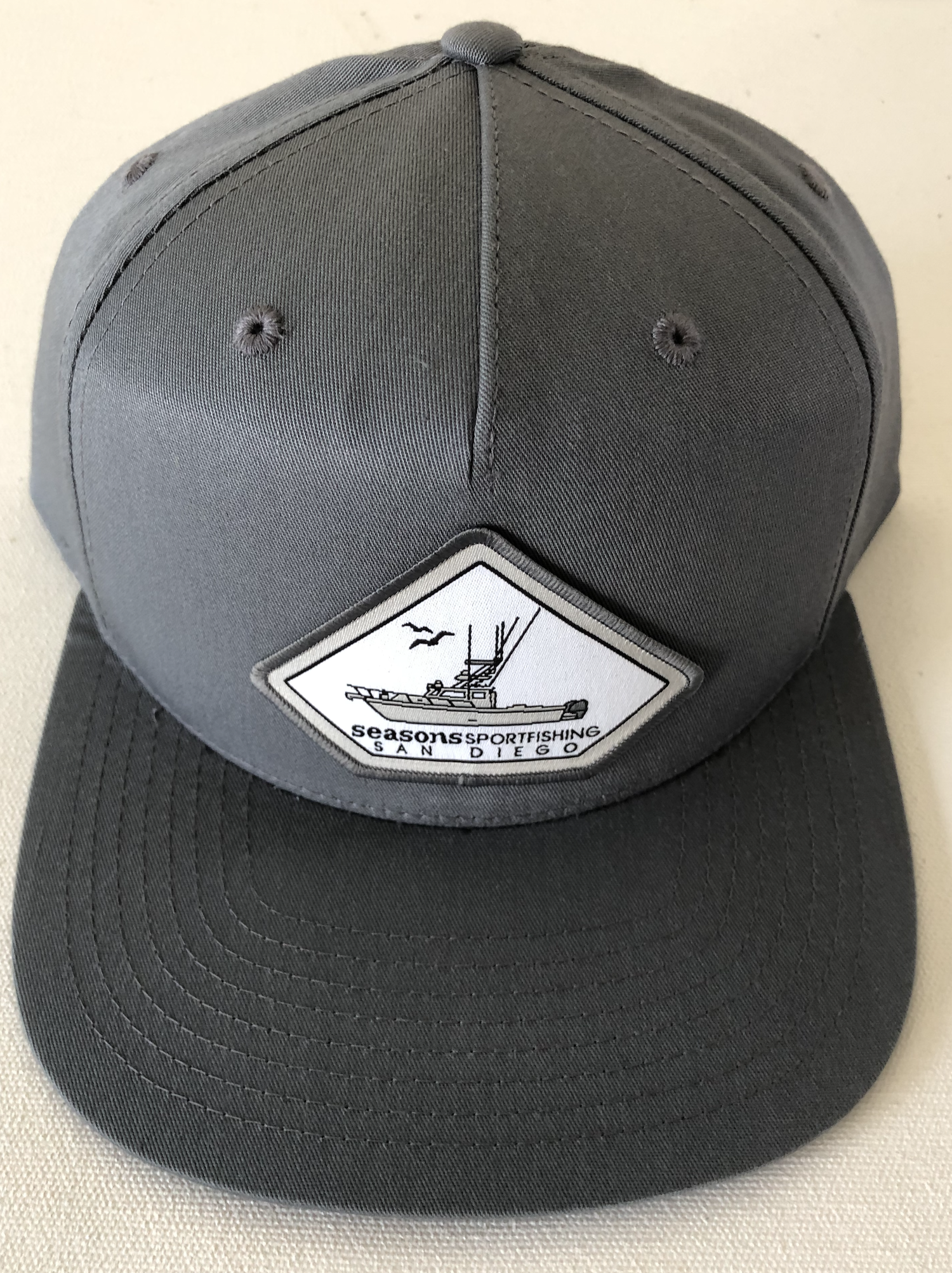 Image of SEASONS - DARK GRAY SNAP BACK - MOTHERSHIP 2020