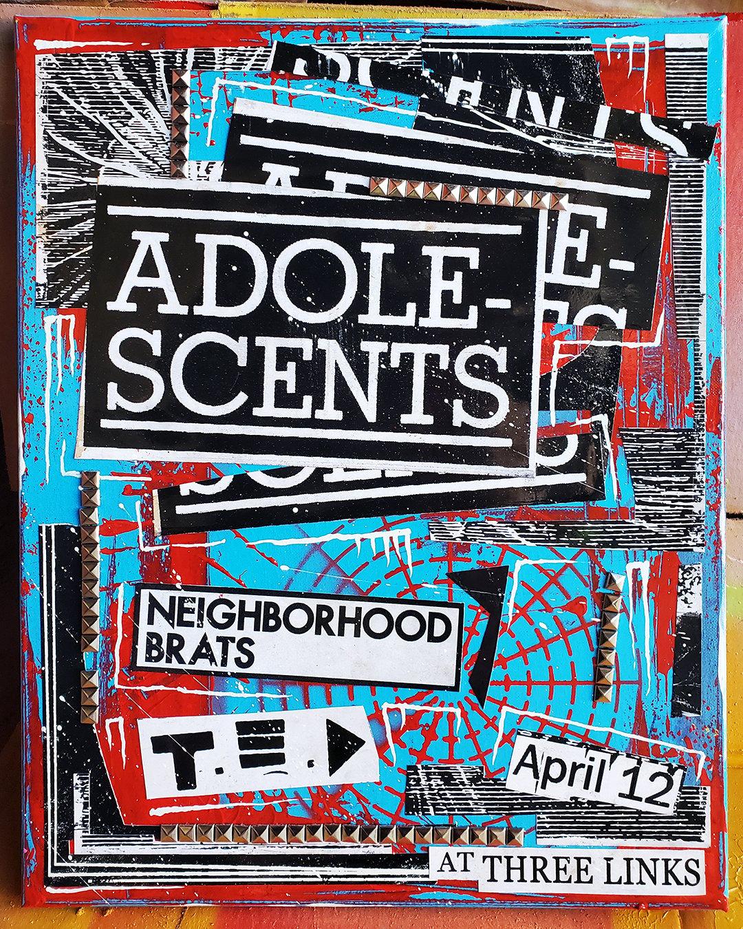 Adolescents 2019 (16x20 canvas)