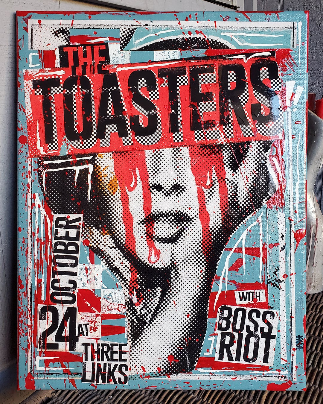 The Toasters 2018 (12x16 canvas)