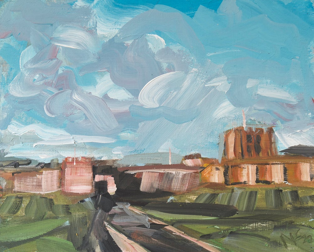 Image of Carlisle Castle Study (Framed original)