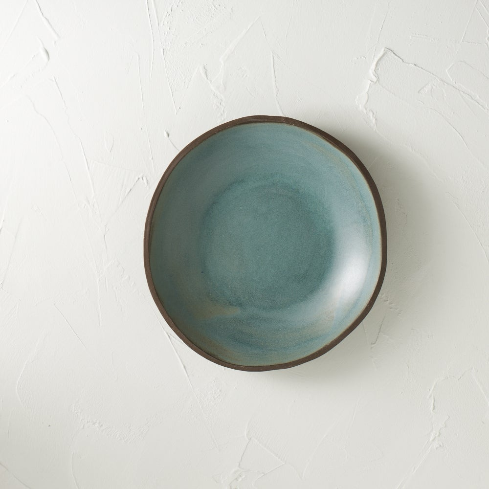 Image of NEW!! Beautiful metallic blue bowl