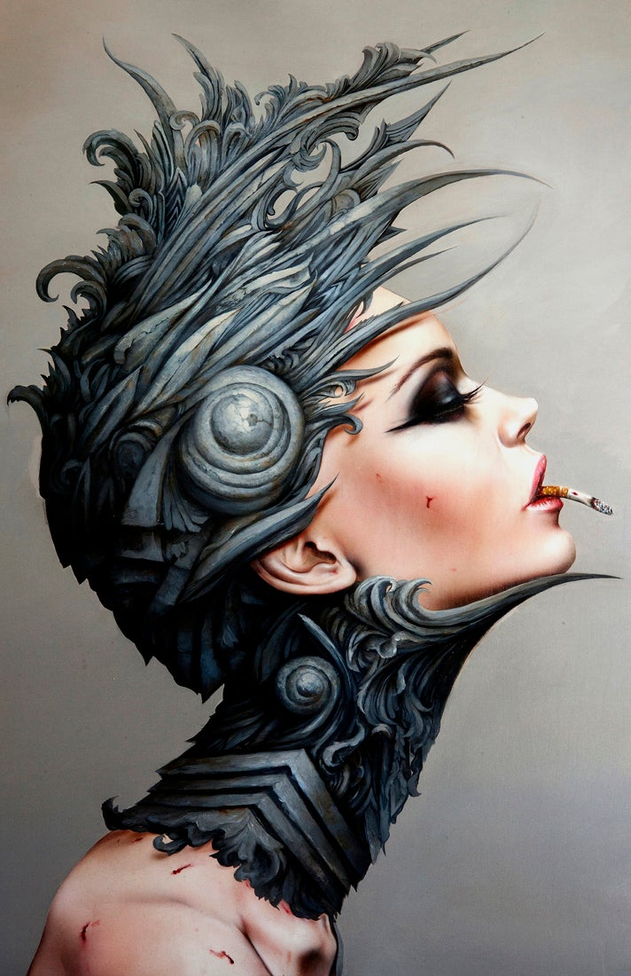 Image of Brian Viveros / Dan Quintana 'Desensitized 20' XL edition of 10