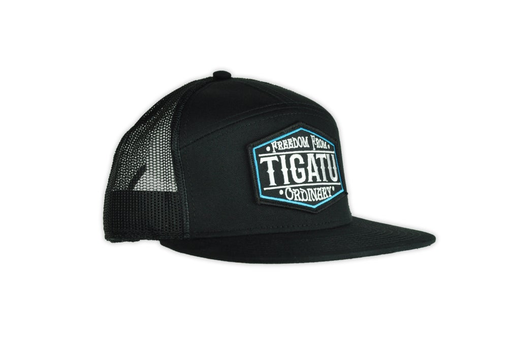 Image of Freedom Snapback - Black/Blue