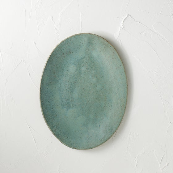 Image of NEW!! Metallic blue platter