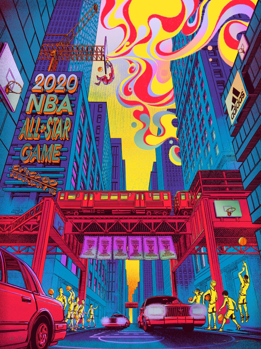 Image of NBA All-Star Game 2020 - Rainbow HoloFoil