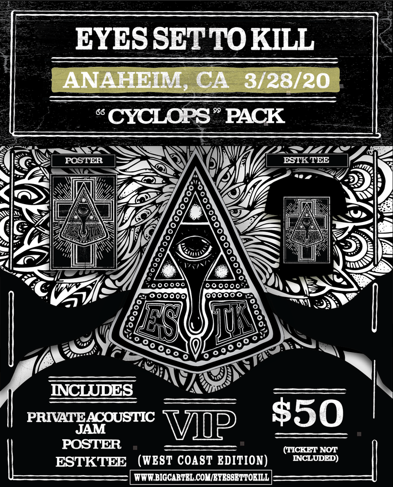 Image of Vip Package for Anaheim California 3/28