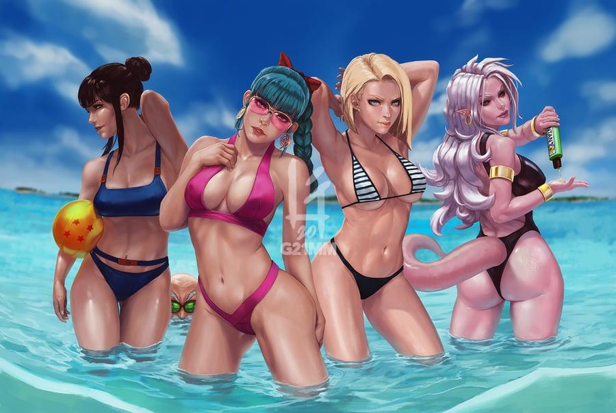 Image of Dragon Ball Beach Girls