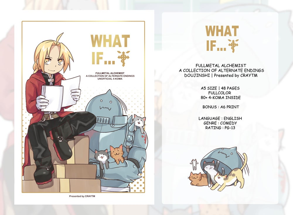 Image of Full Metal Alchemist 4KOMA