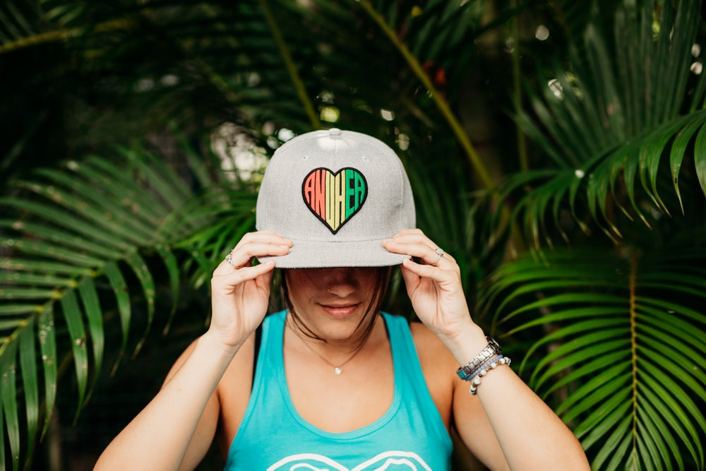 Image of RYG Anuhea Patch Snapback - Gray