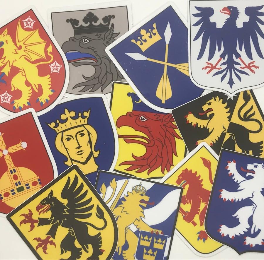 Image of LANDSKAPSKÖLDAR - DEKALER