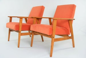 Image of Fauteuils fox corail