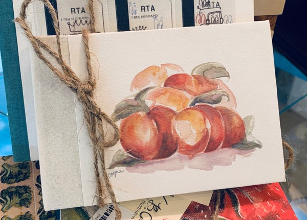 Image of 'Peaches' Sketchbook