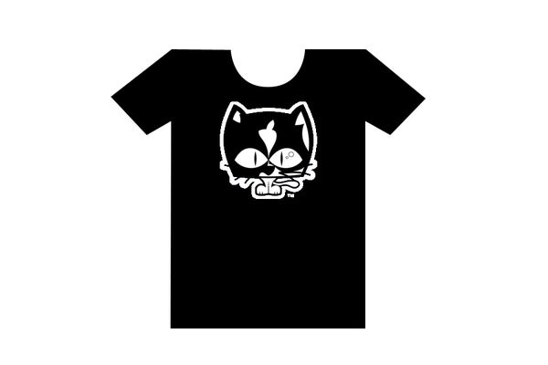 Image of DizzyTV T-Shirt Black - Designed by DESIGNERS REPUBLIC