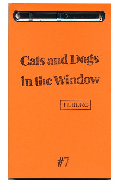 Image of Cats and Dogs in the Window PUBLICATION #7 TILBURG