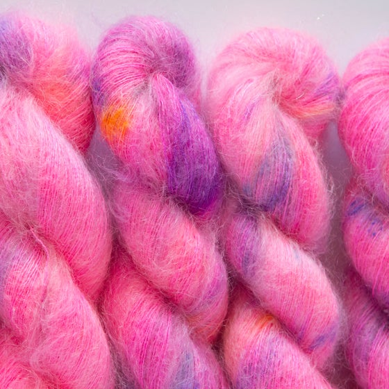 Image of Fluffy Lace - Neon Diva