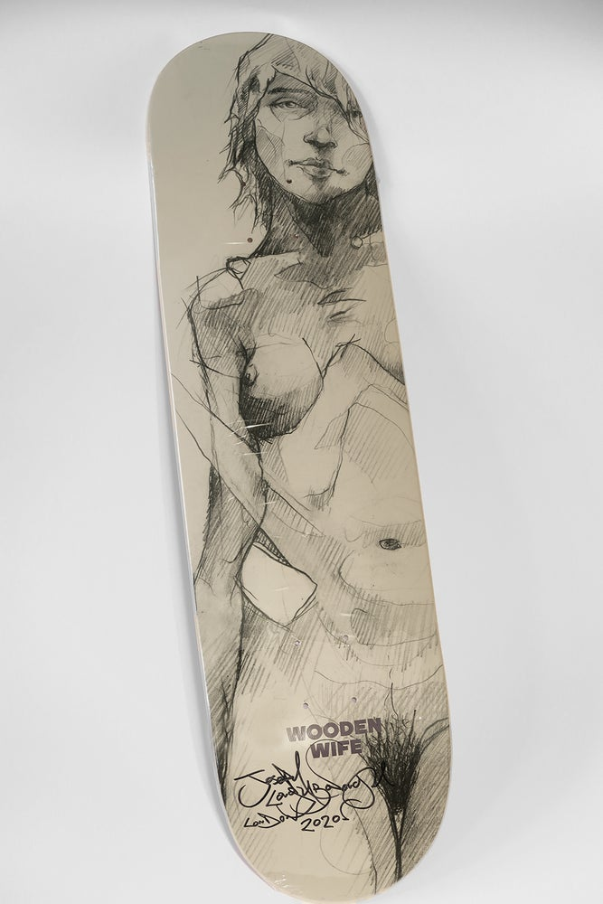 Image of Figure Skate Deck