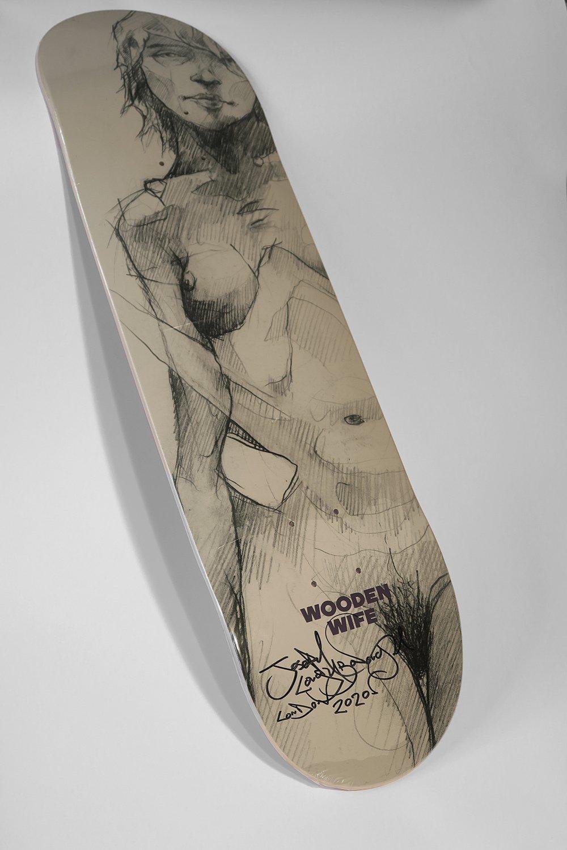 Image of Figure Skate Deck