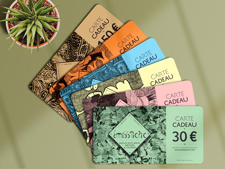 Image of cartes cadeaux
