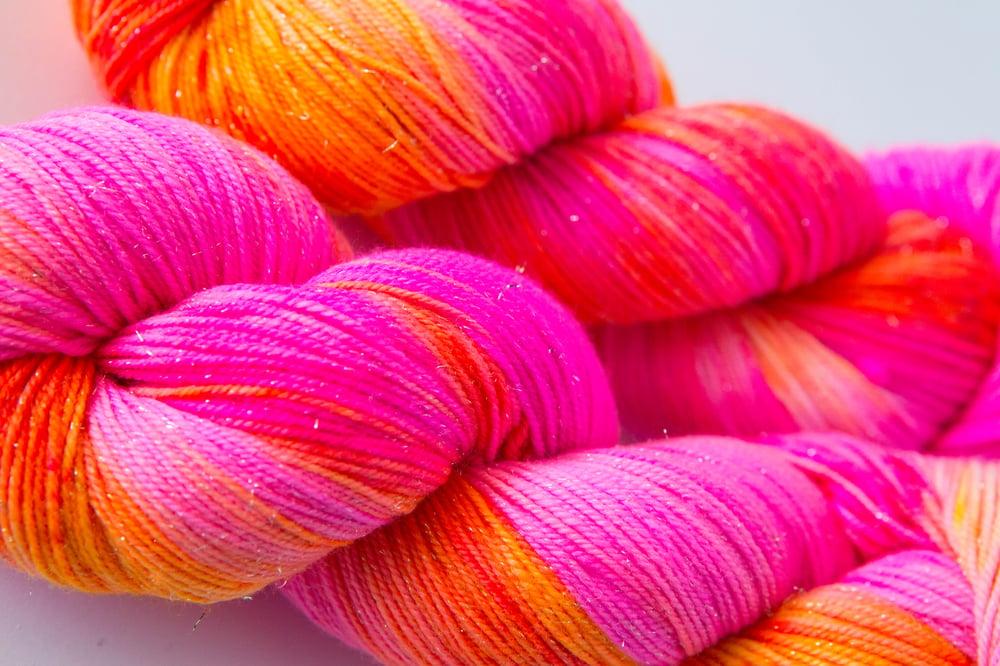 Image of Glitter Sock - Aperol Spritz