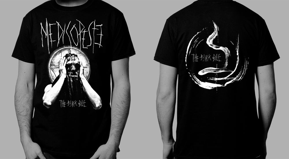 Image of MEDICO PESTE - 'The Black Bile' men's t-shirt