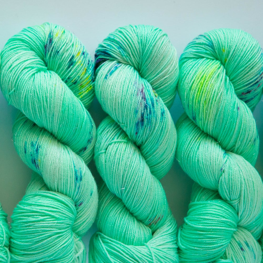 Image of Glitter Sock - Minty