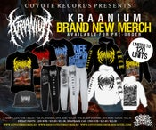Image of KRAANIUM Knee deep in stillborn afterbirth MERCH NEW !!!