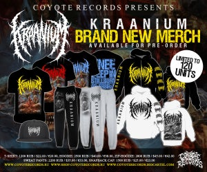 Image of KRAANIUM Knee deep in stillborn afterbirth MERCH NEW !!! pre-order