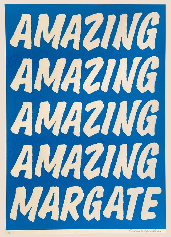 Image of AMAZING MARGATE BLUE