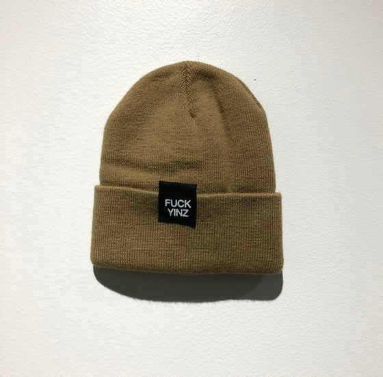 Image of BEANIE LIGHT BROWN