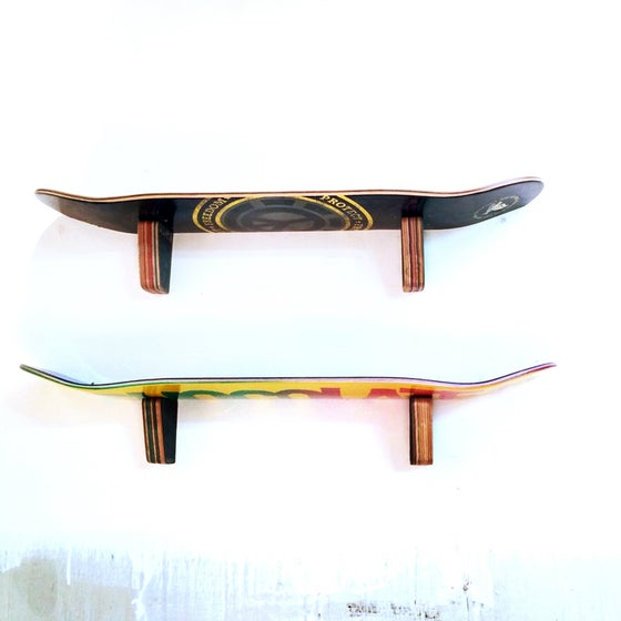 Image of WallRide SkateShelf - Skateboard Wall Shelf - Set of (2) Two