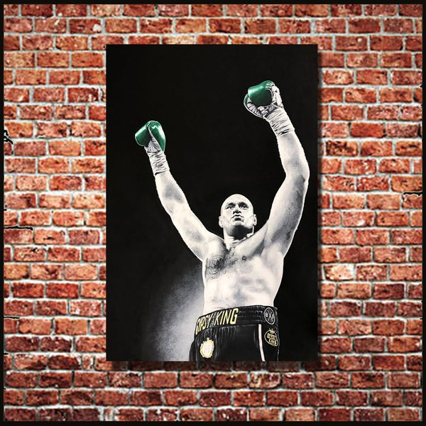 Image of GYPSY KING (3x2ft canvas print)