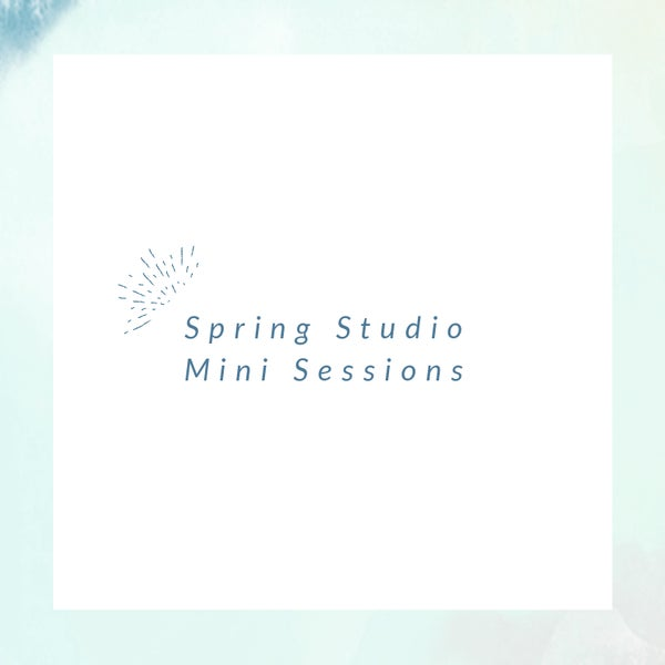 Image of Spring Studio Mini Session