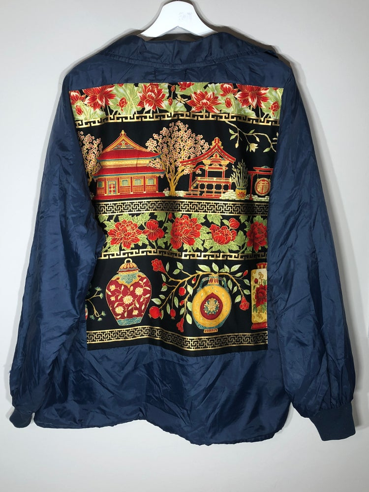 Image of Temple Scenery Windbreaker