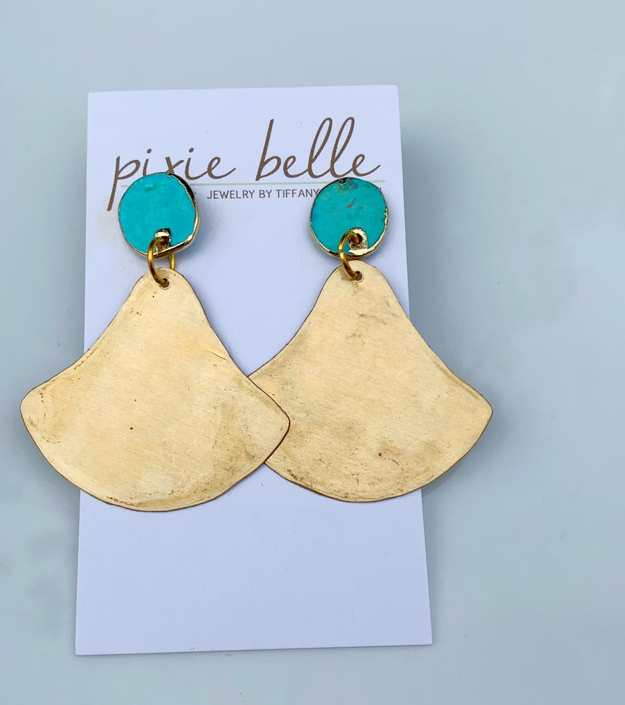 Image of Golden Bell Earrings