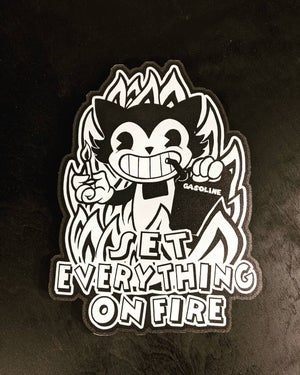 Set Everything on fire - Cutout