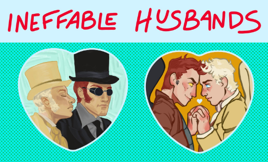 Ineffable Husbands Heart Buttons!
