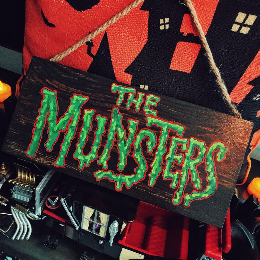 Image of Munsters Decor Sign