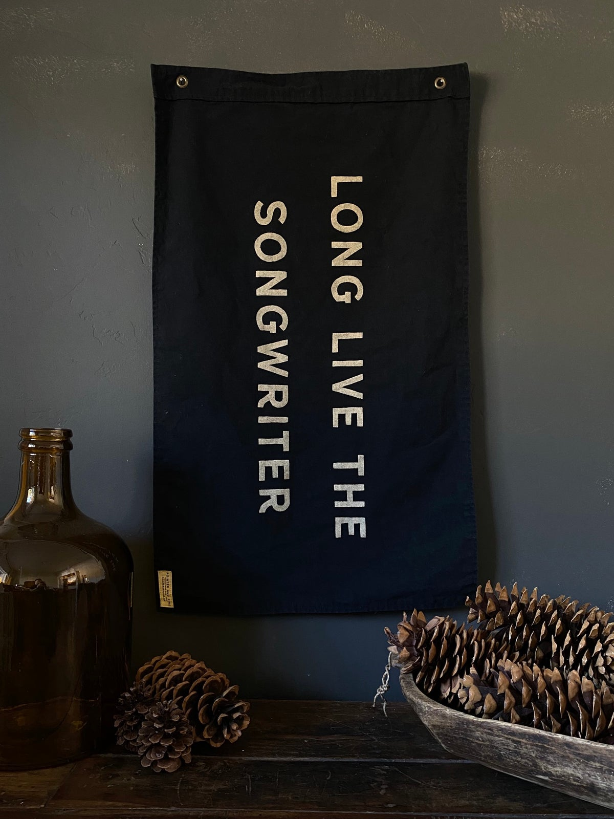 Image of LONG LIVE THE SONGWRITER FLAG