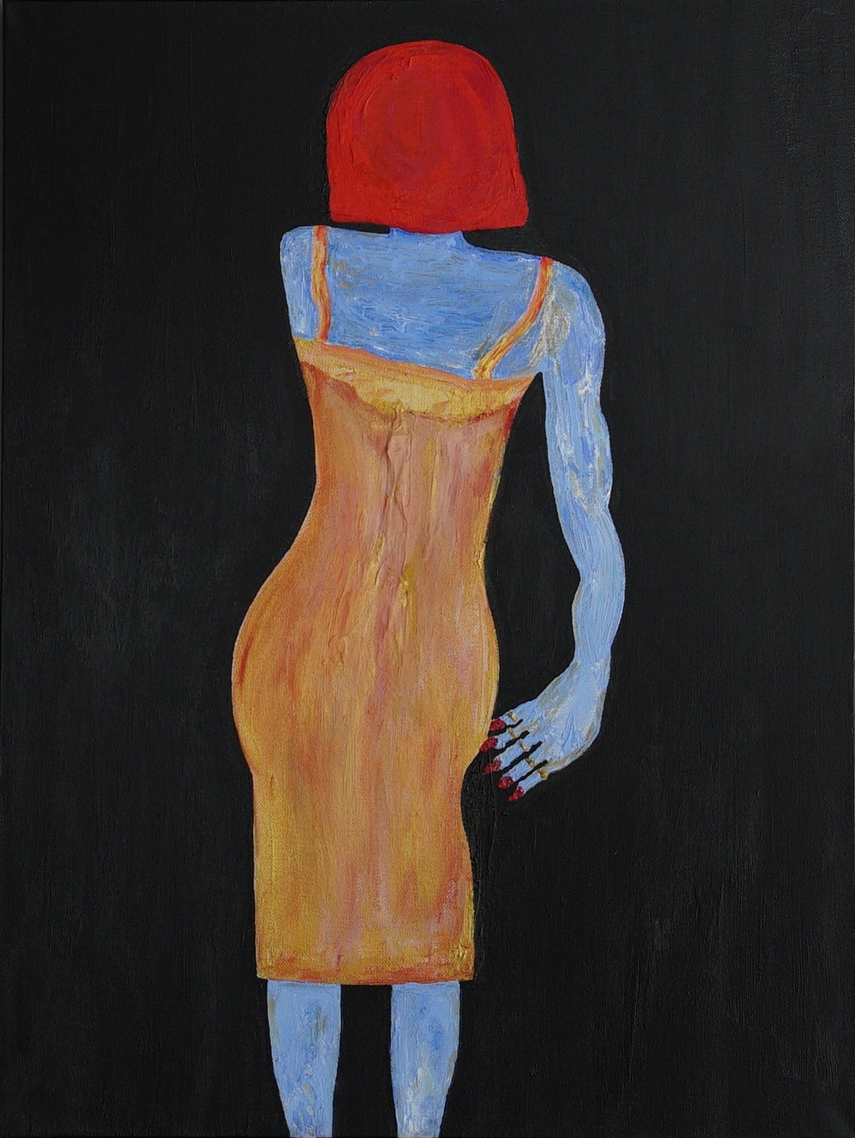 Image of Blue Woman Revisited One
