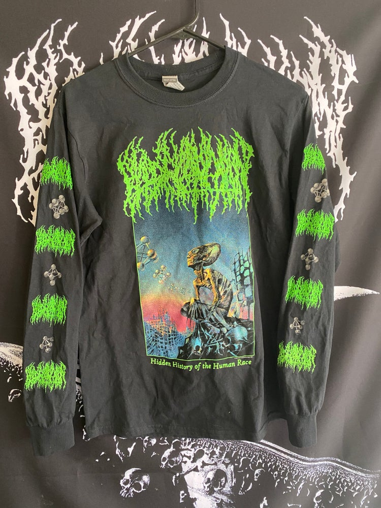 Image of Long Sleeve - 'Hidden History of the Human Race' Full Color Shirt