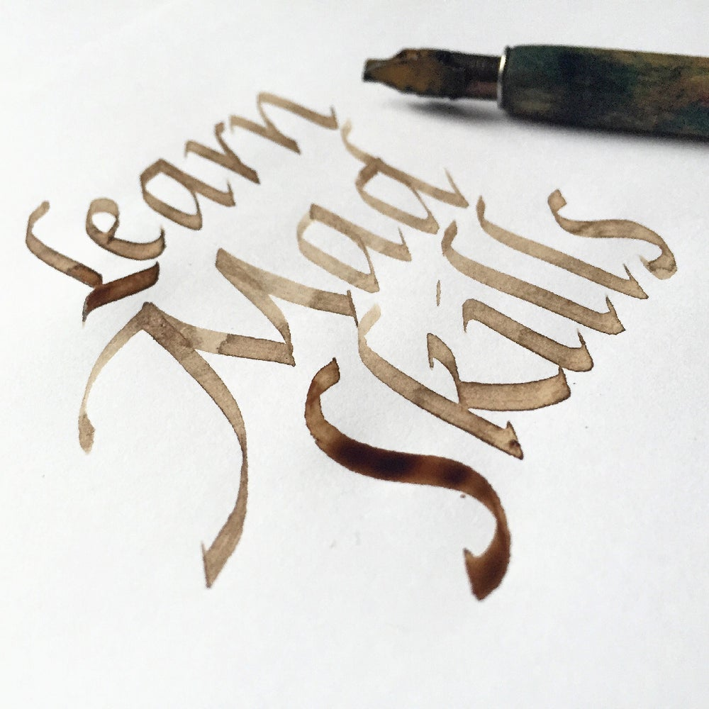 Image of Italic Calligraphy Weekend Masterclass
