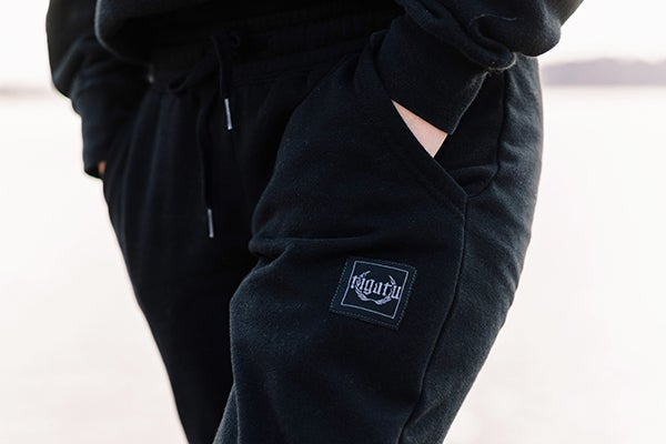 Image of Ladies Jogger - Black