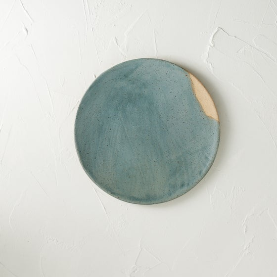 Image of NEW!! Beautiful metallic blue plate