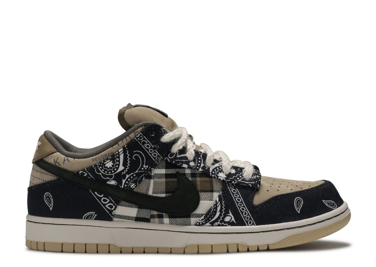 "Image of NIKE SB DUNK LOW PRM QS ""TRAVIS SCOTT"""