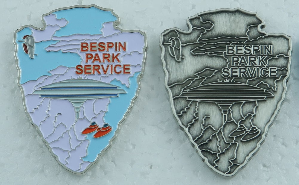 """Image of Star Wars Park Service Bespin Park Service 1.75"""" Challenge Coin Preorder"""