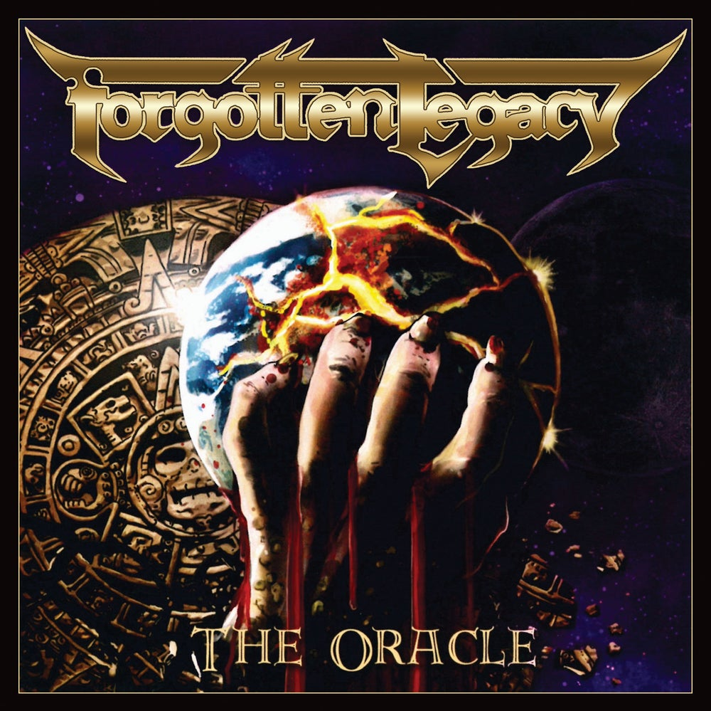 FORGOTTEN LEGACY - The Oracle +5 CD