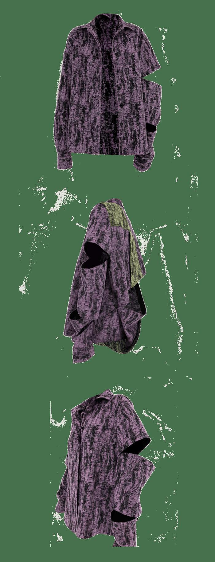 Image of PURPLE NEON SHIRT
